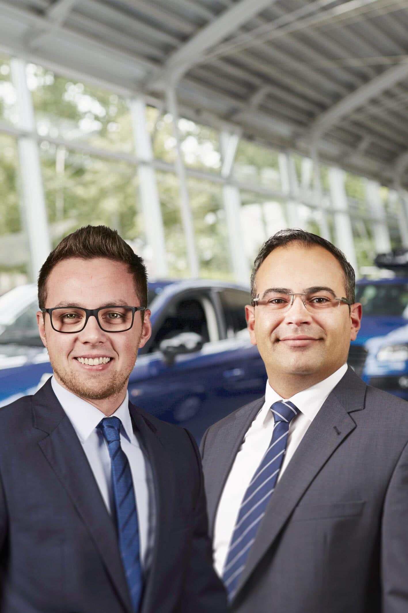 Audi  Neuwagen Team
